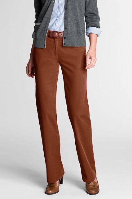db22513c8e83f LANDS  END Women s Plus Brown Colored Jeans Cropped Pants Size 22W P ...
