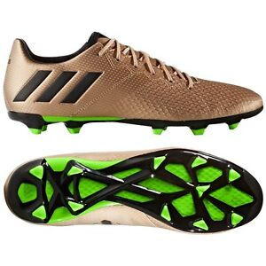 Details about adidas 16.3 TRX FG Messi 2017 Soccer Shoes Copper Black Green Brand New