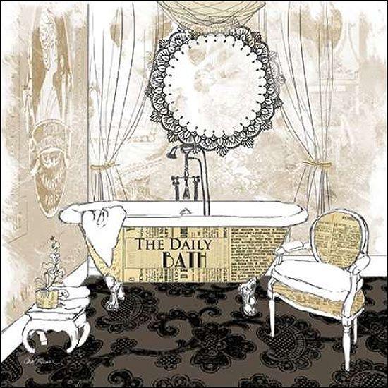 Carol Robinson  Daily Bath Keilrahmen-Bild Leinwand Bad Badezimmer Interieur