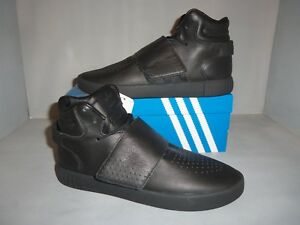 Details about Men's Adidas Original Tubular Invader Strap Basketball Shoe Black Sizes NIB New