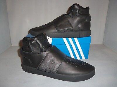 outlet store ab904 5a063 Men's Adidas Original Tubular Invader Strap Basketball Shoe- Black Sizes  NIB New | eBay