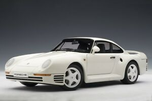 Autoart-78083-1-18-Millennium-PORSCHE-959-White-1986