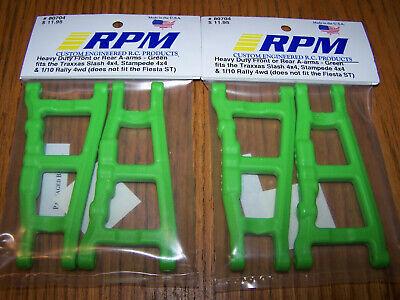 Rustler Nitro Slash Stampede Green RPM Front A-Arm 2WD Slash