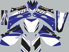 Graphic Kit for 2006-2009 YZ250f YZ 250f YZF 250 shrouds fender plastic decals