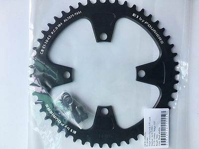 Fouriers BCD104 Chainring Circle Narrow Wide 48 50 52T For SHIMANO