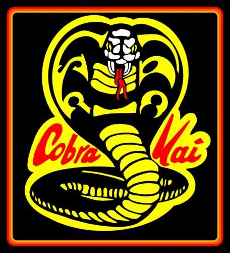 "Karate Kid Sweep the Leg decal 4 car 4.25/"" Cobra Kai vinyl sticker laptop."