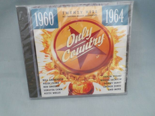 Only Country 1960-1964 by Various Artists (CD, 1995, JCI Associated Labels)