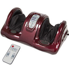 BCP Electric Foot Massager w/ Remote, 3 Modes - Red