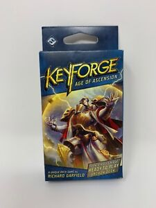 Keyforge-Age-of-Ascension-Deck-NEW-Factory-Sealed-Richard-Garfield