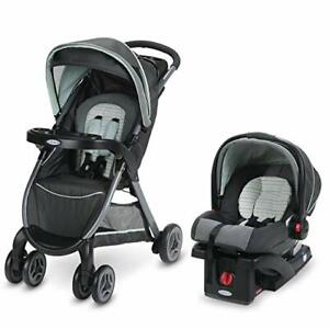 Graco-FastAction-Fold-Click-Connect-Travel-System-Stroller-Bennett