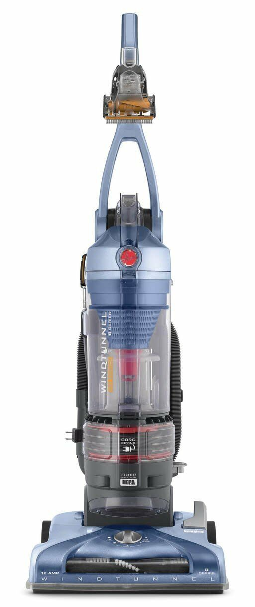 Hoover Vaccum Bagless Upright with Cord Rewind and HEPA Filter
