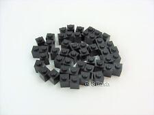 New Black Brick 3005 Lego 50 x Stone 1x1 Black Stones Black Basic Bricks
