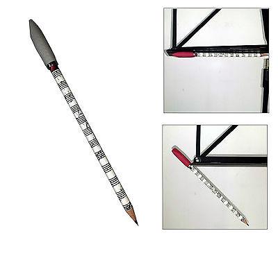 Notenständer HB m Bleistift mit Magnet f Radiergummi magnetisch Musikbleistift
