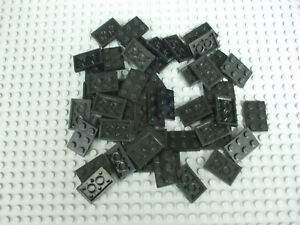 Lego Dark Bluish Gray 2x3 Plate Lot of 50 3021 Part No