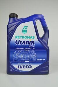 Petronas-Urania-FE-LS-5W-30-1x-5-Liter-fur-IVECO-Euro-5-und-6-Dieselmotoren