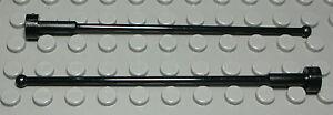 Lego Stange Antenne 1x8 Schwarz 2 Stück                                  (577 #)