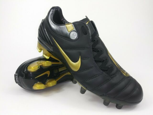 pretty nice 94333 6e59c Nike Mens RARE Air Zoom Total 90 Supremacy FG 313969-071 Gold Cleats Size 6