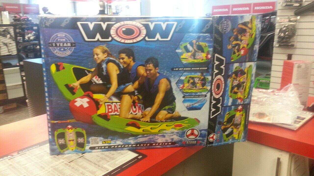 10-746130 Wow World of Watersports 13-1010, Big Bazooka 1 to 4 Person