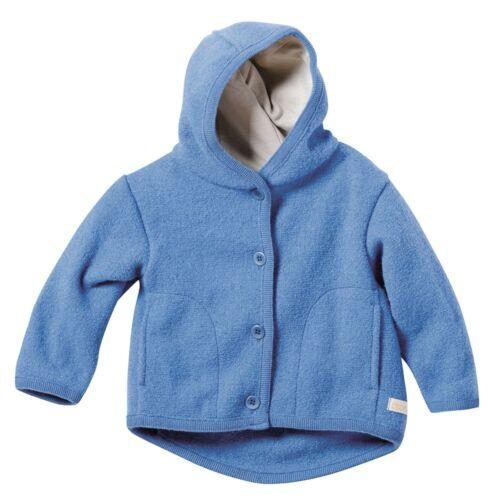 disana Baby//Kinder Walk-Jacke Bio-Merinoschurwolle