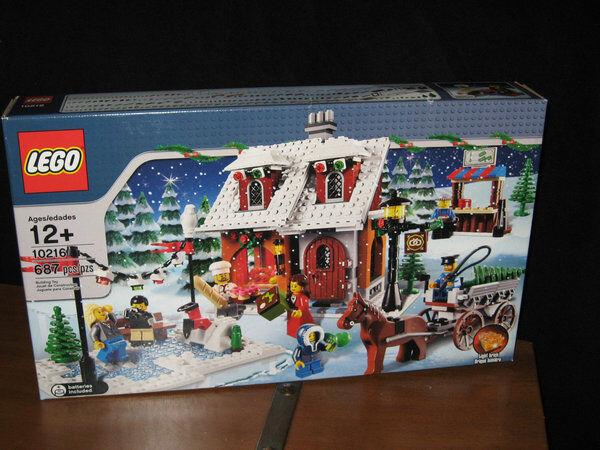 Lego Holiday Village Hivernal boulangerie   10216 SP Ed 687 PC Nouveau & Sealed RETIrouge