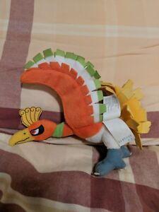 Pokemon Ho-oh The Bird Eagle  High Quality Brand New Plush 13/'/' Inch USA Seller