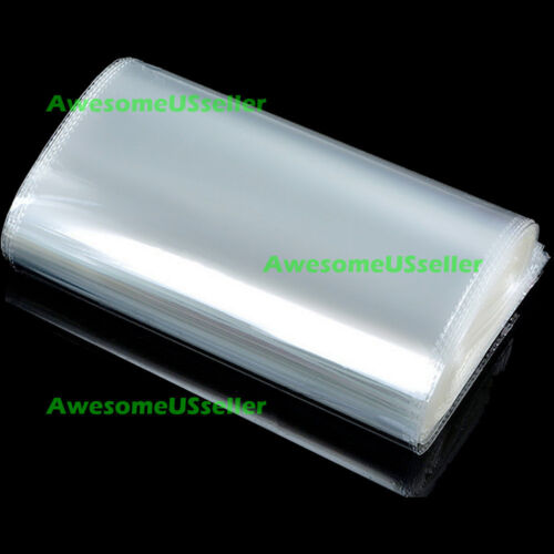 100 9 x 12 Poly Clear Plastic Bags Self Adhesive T-Shirt Apparel Dress Clothing