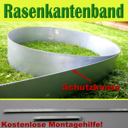 Rasenkanten Rasenkantenband Beetumrandung Beeteinfassung Mähkante   H15cm L10
