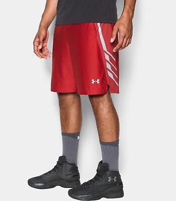 "Under Armour UA Team 9/"" Men's Basketball Shorts 1302384-600 2XL XXL NWT $40"