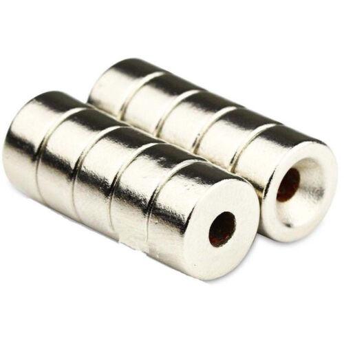 5//10PCS Super Round Strong Fridge Magnets Rare-Earth Neodymium Magnet N50 N52