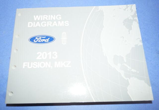 2013 Ford Fusion  Mkz Evtm Wiring Diagrams Service Manual