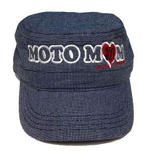 Damen-accessoires Gewidmet Moto Mama Kadettenkappe Hut Damen Motocross Mx Nur Reite Rennnummer Moto Hohe QualitäT Und Geringer Aufwand