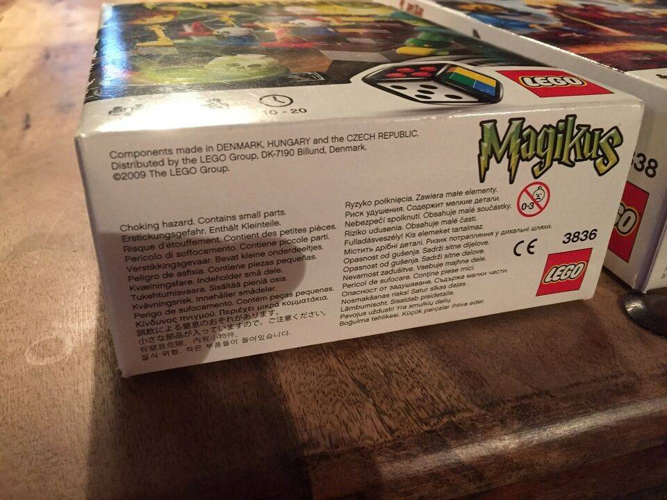 Lego Games, 3836 Magikus & 3838 Lava Dragon