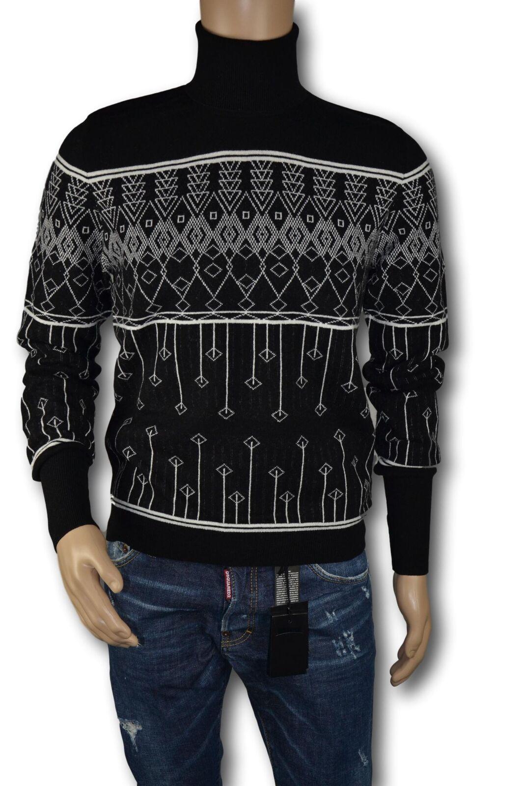 BALLANTYNE Maglione Dolcevita  Herren Man's Sweater Men Jumper Cashmere TG. 50