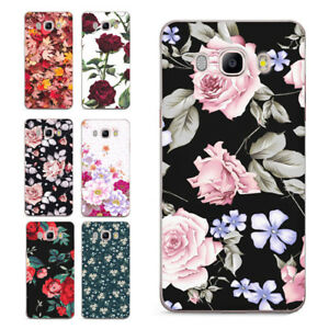Hot-Cute-Colorful-Floral-Flowers-Women-Ladies-Soft-Cover-Case-Fit-Samsung-Galaxy