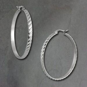 + Cerámica de acero inoxidable creolen aretes negro blanco plata + selección