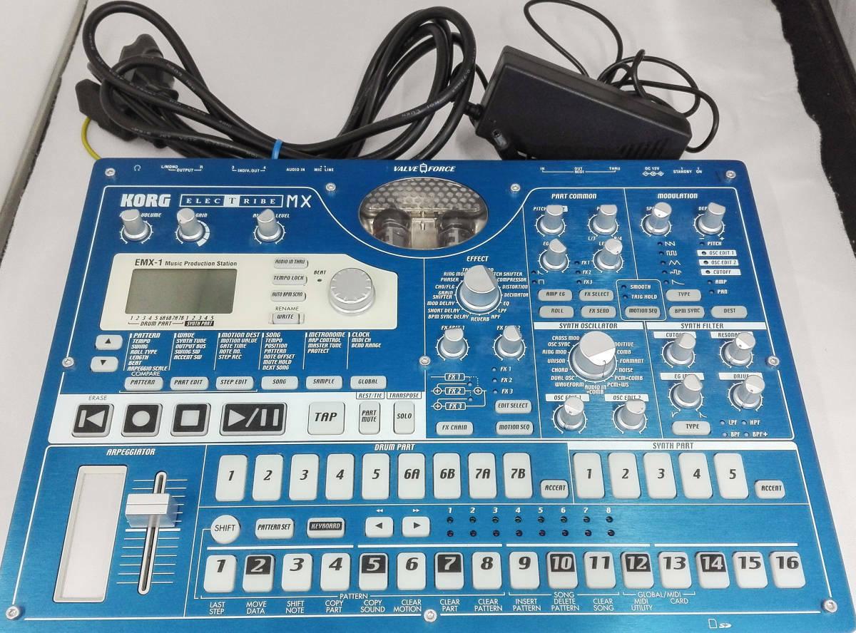 KORG Electribe EMX-1 MX Music Production Groovebox Sampler Pro Audio Equipmen