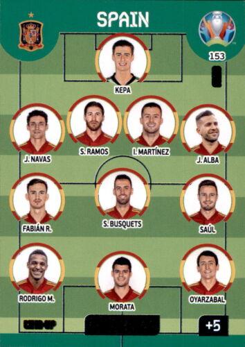 Panini UEFA Euro EM 2020 ADRENALYN XL Trading cards cartes 1-243 au choix