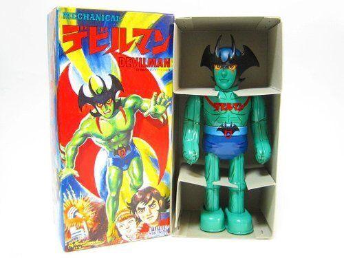 Nuovo Billiken Shokai Mechanical  DEVILuomo bipedal walre Wind-Up Tin giocattolo Vintage  ti aspetto