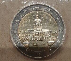 2 Euros Commémorative Allemagne 2018 Berlin-Atelier D-CIR Qualite SPL