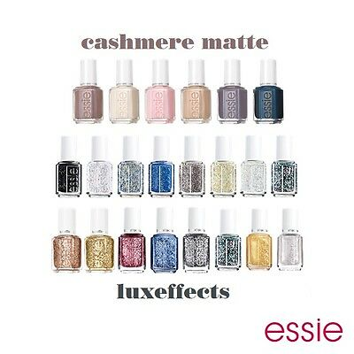 Essie Effects - LuxEffects, Mirror Metallics & Cashmere Matte - (Choose Any)