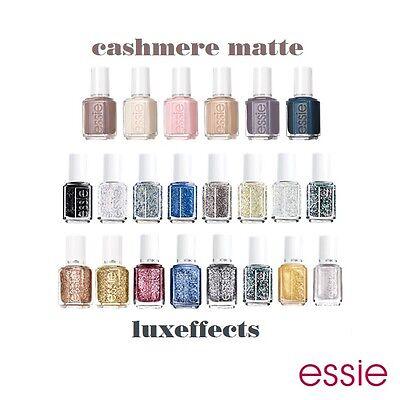 Essie Effects - LuxEffects, Mirror Metallics & Cashmere Matte - (Choose Any)