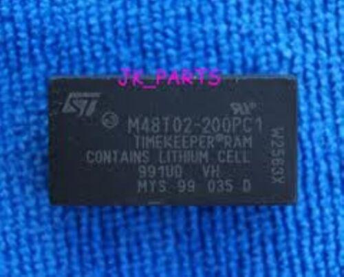 ST M48T02-200PC1 DIP 16 Kbit 2Kb x8 TIMEKEEPER SRAM