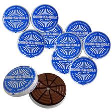 10er SET Scho-Ka-Kola Vollmilch Schokolade 100 g Dose / Energie-Schokolade / Sch