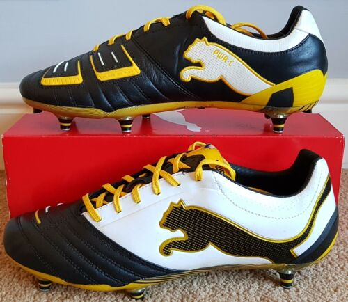 BNWT Puma Powercat C1.12 SG Pro Version BlackWhiteYellow
