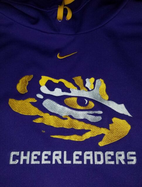 02b1be93 Cheerleading cheering cheer LSU Mens Hoodie Size L NIKE cheerleaders ...