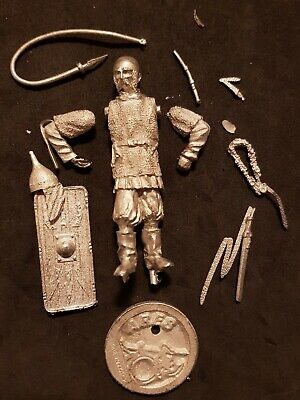 "Ares 54mm Metal Kit ""viking Warrior"" No Box! Very Rare! Best Price! Bianco Puro E Traslucido"