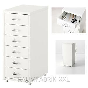 Rollcontainer weiß ikea  IKEA Schubladenelement Rollcontainer Büroschrank Schrank ...