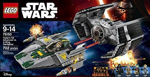 Lego 75150 Vader's TIE Advanced vs A-Wing Starfighter-Star Starfighter-Star Starfighter-Star Wars-Disney-Neuf e4cd58
