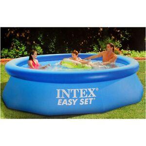 intex swimming pool easy set 244 x 76 cm 28112np retourenware ebay. Black Bedroom Furniture Sets. Home Design Ideas