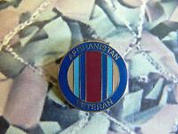 VETERANS Afghanistan Enamel Lapel Badge Veteran